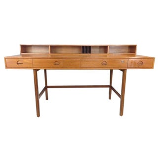 Jens Quistgaard Flip-Top Console Desk in Teak