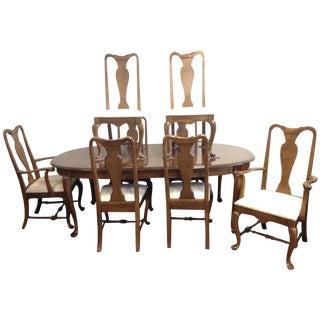 Ethan Allen Manor Queen Anne Dining Set