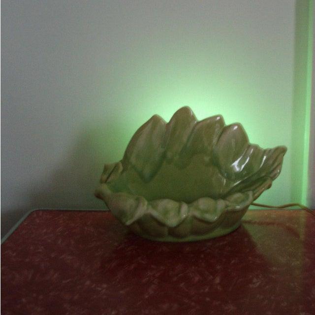 Image of Atomic Era TV Lamp, Chartreuse Green