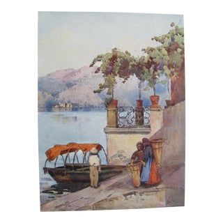 1905 Ella du Cane Print, Leaving the Market
