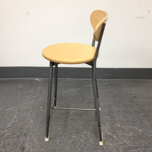 Image of Mid-Century Counter Height - Set of 3