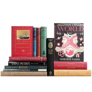 The Art & Culture of Rome Books - Set of 13