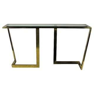 Mid-Century Modern Italian Console Table by Romeo and Rega
