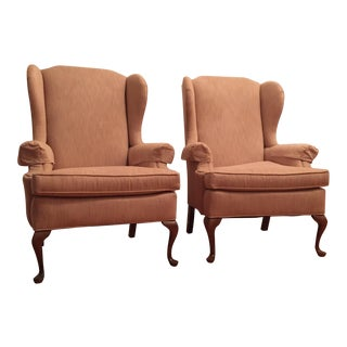 Stanton Cooper Queen Anne Chairs - Pair