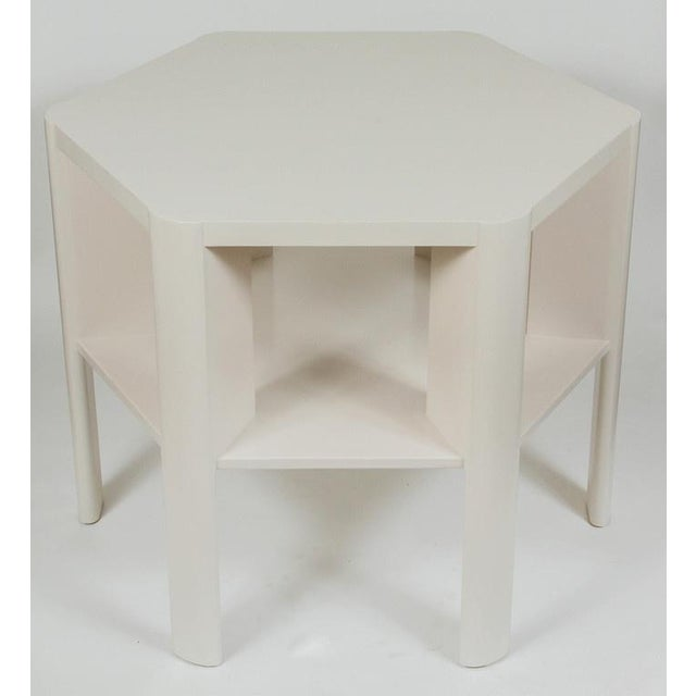 Martin & Brockett Hexagon Library Table - Image 2 of 6