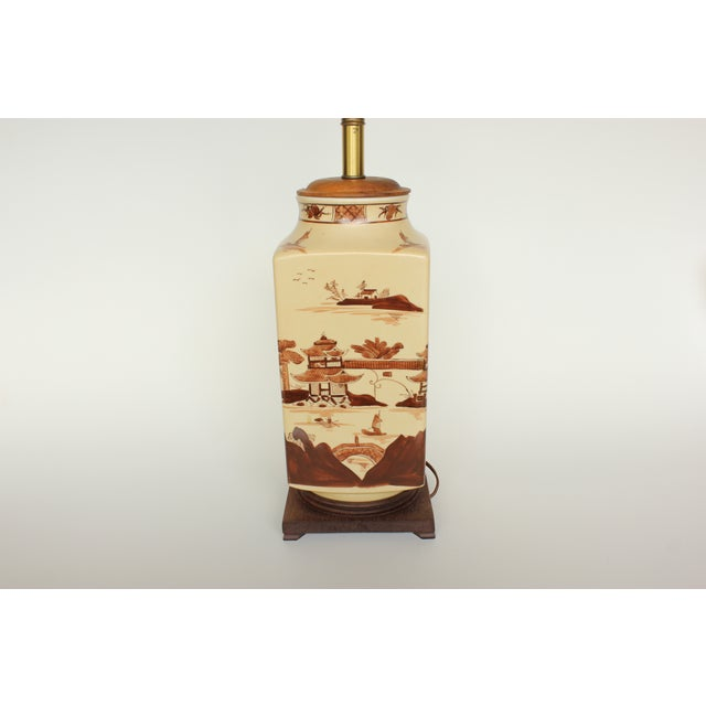 Vintage Chinese Table Lamp - Image 4 of 6