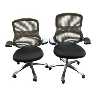 Knoll Generation Desk Chairs - A Pair
