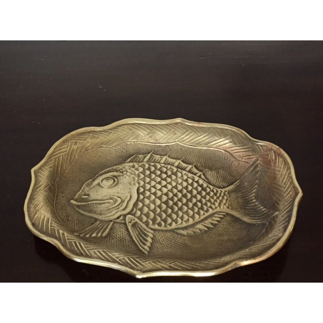 Brass Fish Tray - Image 3 of 6