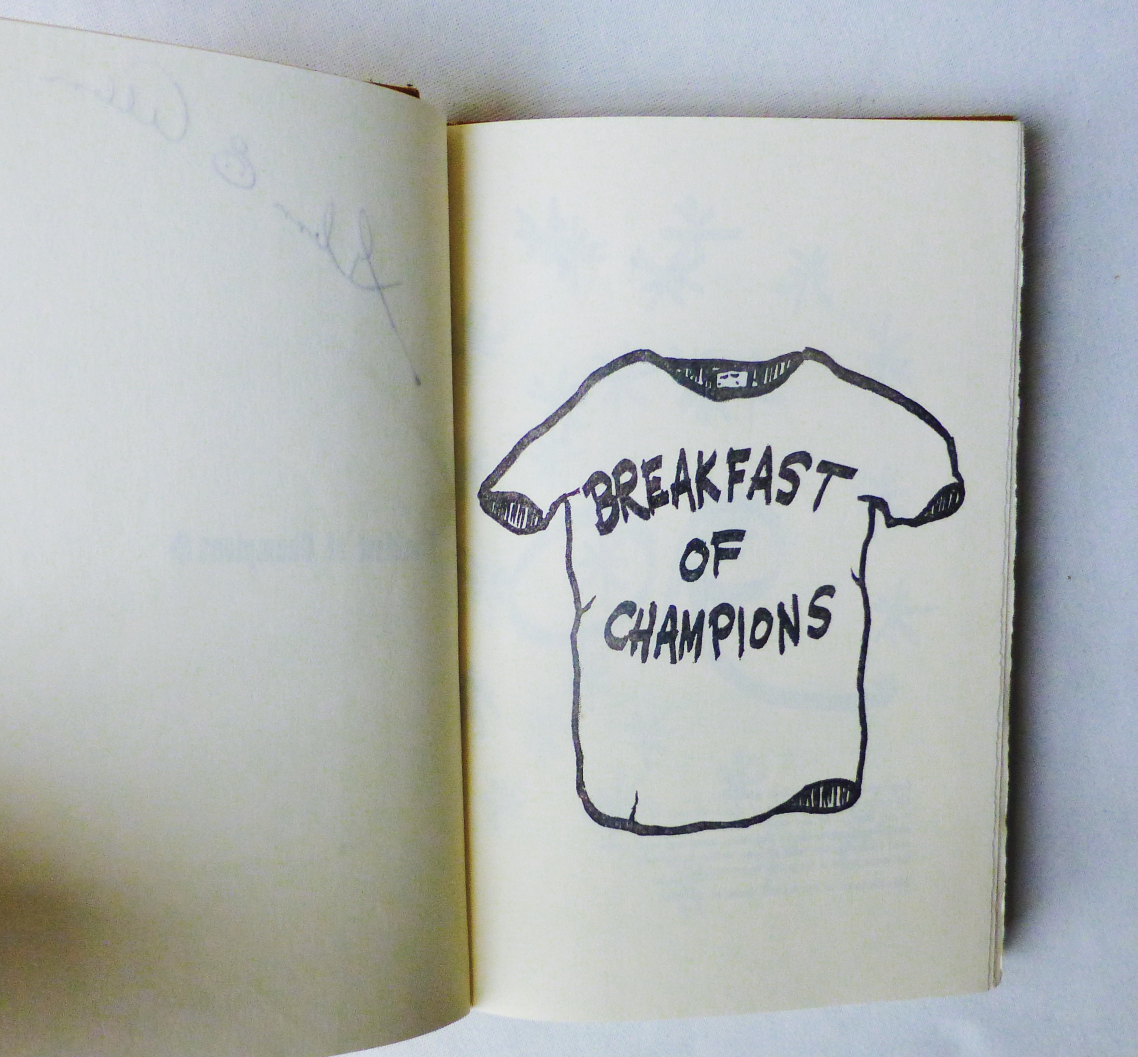 breakfast of champions postmodernism by kurt vonnegut Essays from bookrags provide great ideas for postmodernism essays and paper topics like essay view this student essay about postmodernism.
