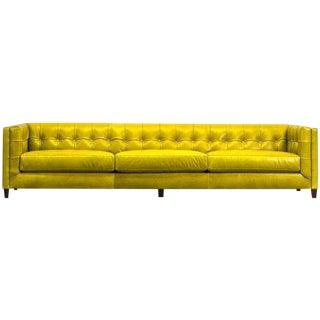Mid-Century Modern Style Citrine Sofa