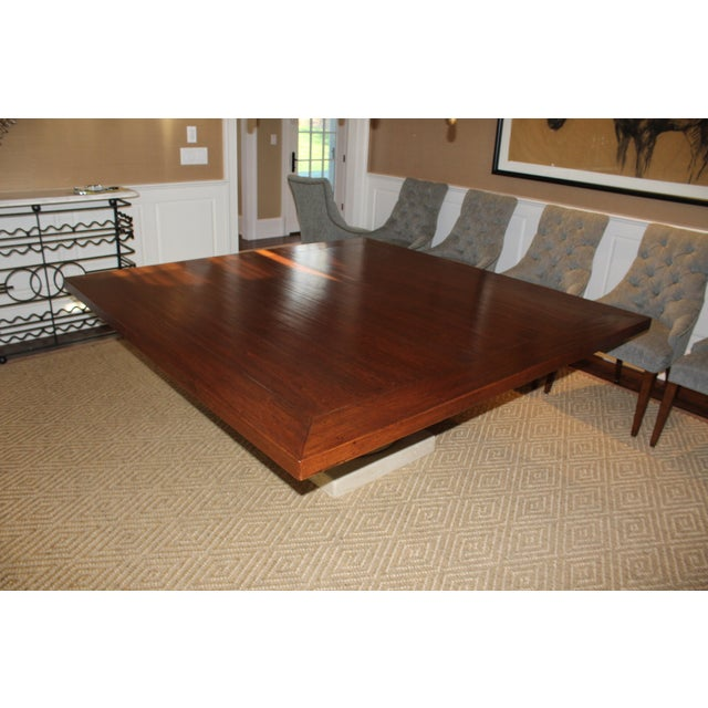 Custom Made Walnut Dining Table - Image 3 of 8
