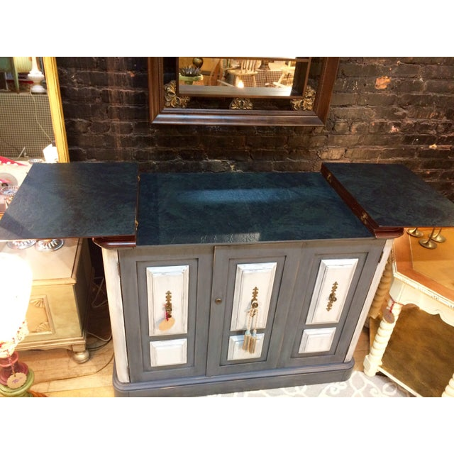 Image of Distressed Vintage Home Bar