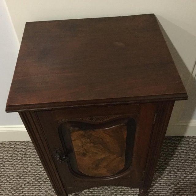 Image of Antique Walnut Half Commode