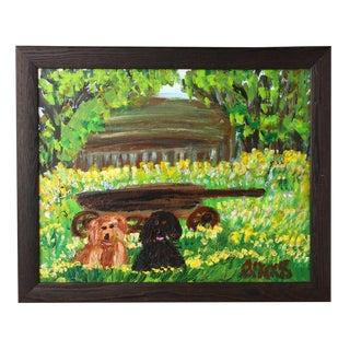 Original Alyne Harris Oil Painting on Canvas