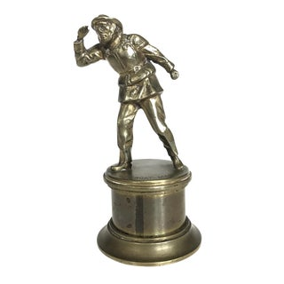 Solid Brass Sea Captain Hood Ornament