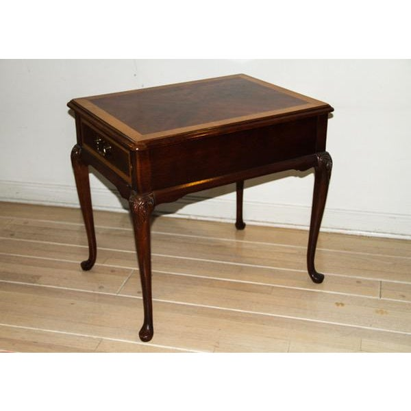"""Image of Vintage Thomasville """"Mahogany Collection"""" End Table"""