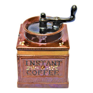 "Mid-Century Royal Sealy ""Instant Coffee"" Coffee Holder"