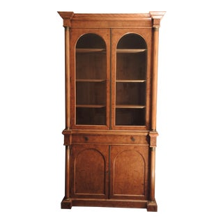 Reproduction Biedermeier Breakfronts China Cabinet
