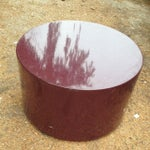 Image of Peter Pepper Mid-Century Modern Red Resin Table