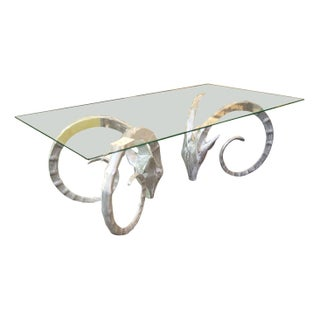 Solid Aluminum Ibex Coffee Table