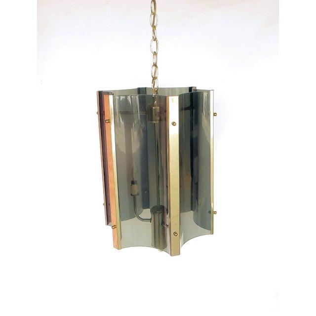 1970s Plexiglass Pendant - Image 2 of 4