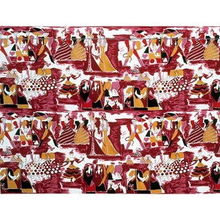 Balletto Alla Scala Fabric by Gio Ponti
