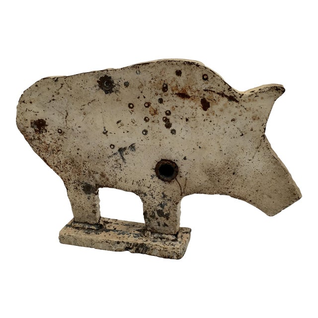 Antique Carnival Shooting Target - Image 1 of 6