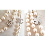 """Image of Chanel Classic Long 72"""" No.5 Pearl Necklace"""