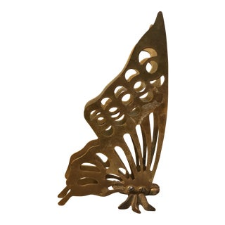 Mid-Century Brass Butterfly