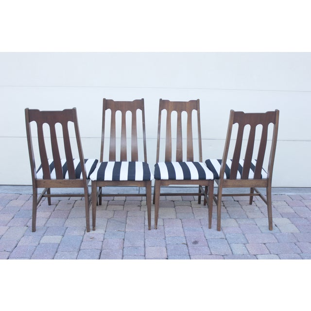 Mid Century Dining Chairs - Set of 4 - Image 7 of 8