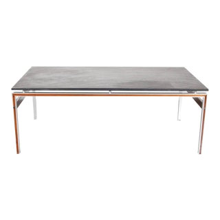 Coffee Table with Slate Stone Top, Denmark circa 1960