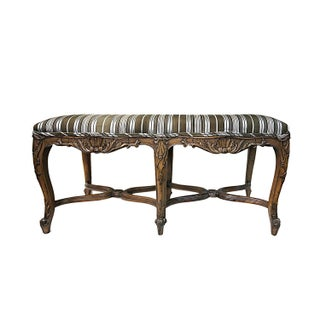Antique Carved Bench