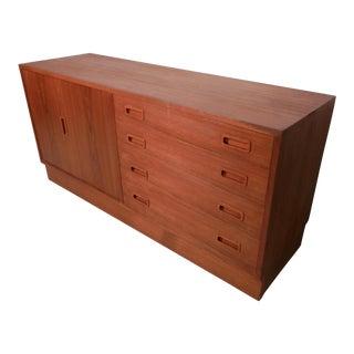 Mid Century Danish Modern Teak Dresser