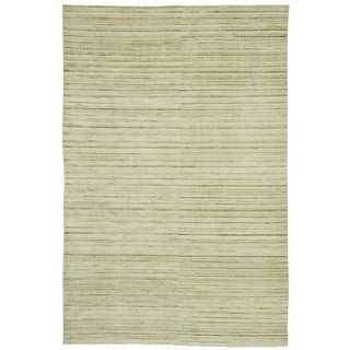 "New Contemporary Hand Knotted Wool Rug - 5'8"" X 8'7"""