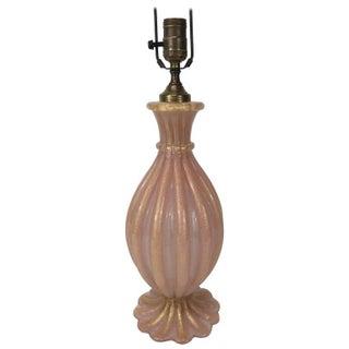 Barovier Murano Glass Table Lamp