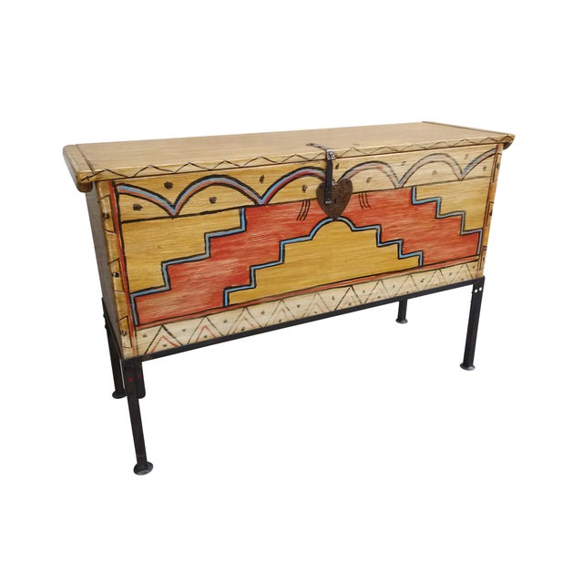 Hand Made Mexican Trunk by Carrington and Foss - Image 2 of 10