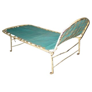 French Campaign Day Bed / Chaise Longue
