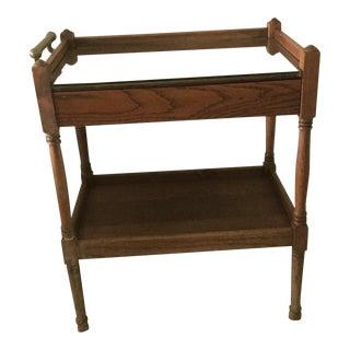 Antique Oak Tea Cart