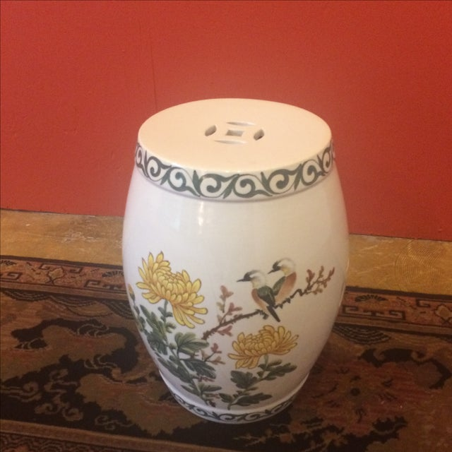 Chinoiserie Garden Stool - Image 3 of 9