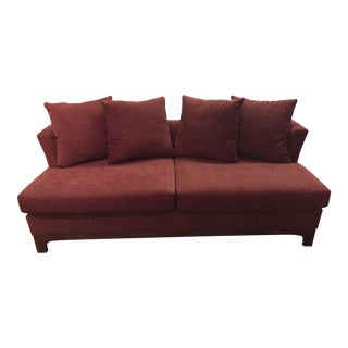 Elite Leather Modern Style 2 Seat Sofa