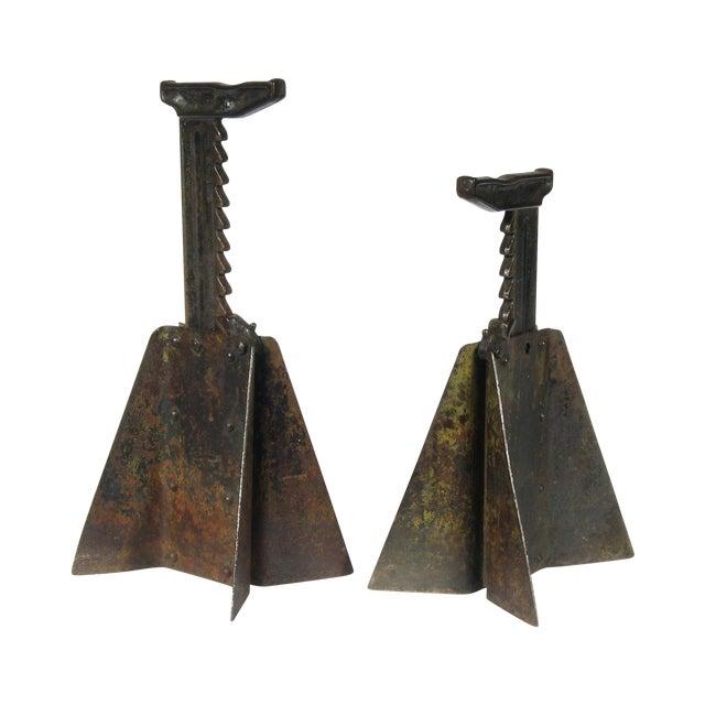 Image of Vintage Hi-Low Steel Horses - Pair