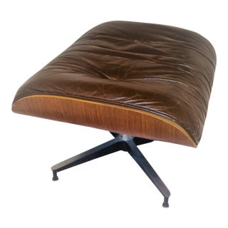Eames Herman Miller Rosewood & Leather Ottoman