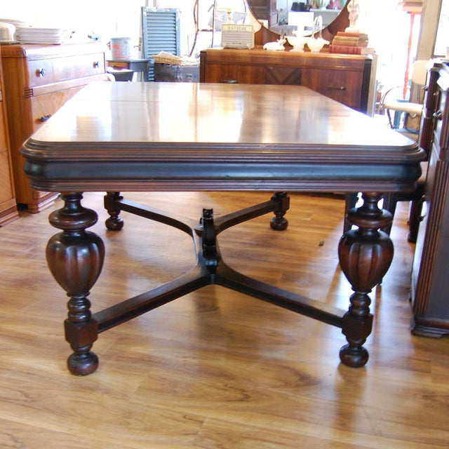 Vintage Traditional Mahogany Table - Image 7 of 8