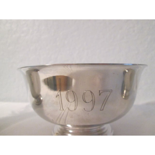 Pewter Engraved Bowls - Set of 3 - Image 3 of 5