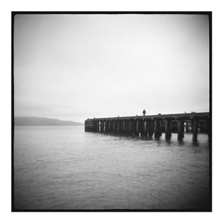 "Black and White Photograph ""Pier"" From The Series ""Homeland"""