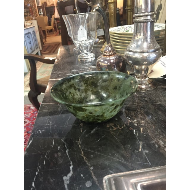 Chinese Spinach Jade Bowl - Image 6 of 7