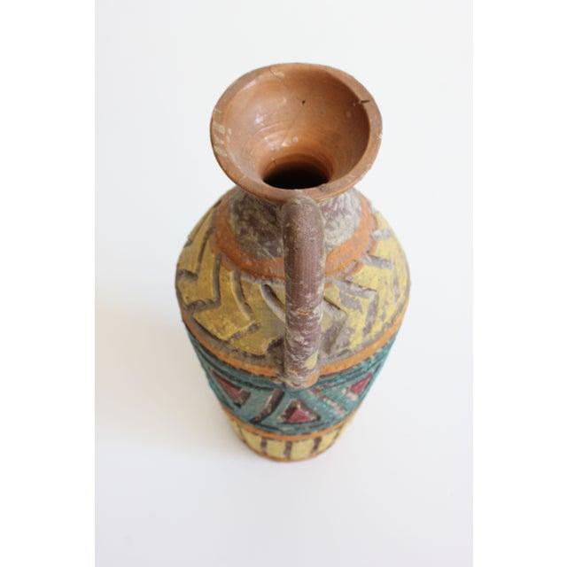Geometric Incised Italian Art Pottery - Set of 3 - Image 7 of 7