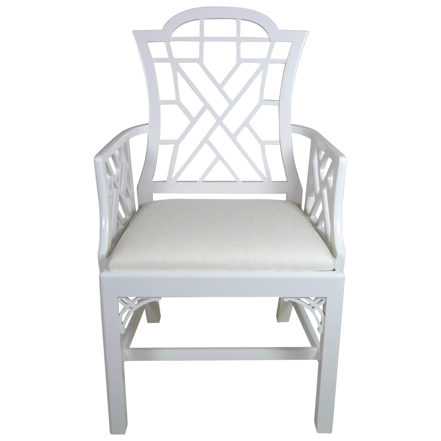 lacquered chinese chippendale chair