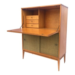Paul McCobb Planner Group Modernist Desk/Bar