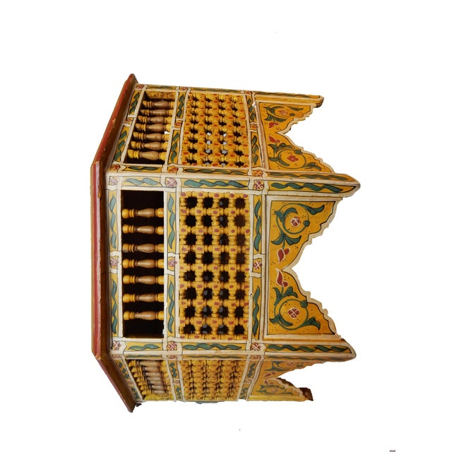 Moroccan 8 Sided Coffee Table - Image 7 of 10